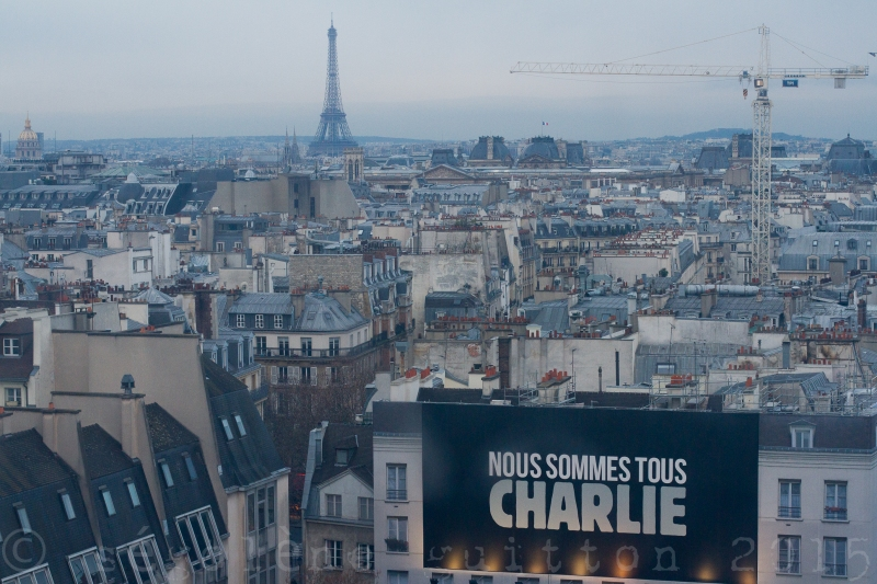 Liberté vue de Pompidou